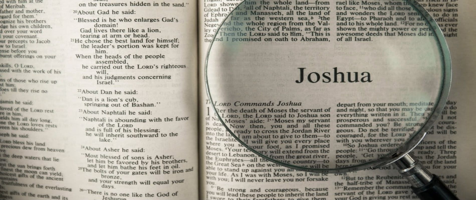 New Adult Bible Study Topic: Book of Joshua